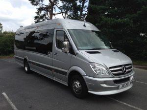 Mercedes-Benz Executive Mini Bus Chauffeur