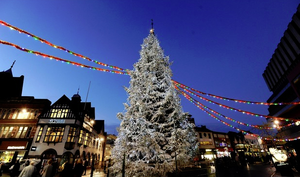 Christmas Travel with Leicester Executive Chauffeurs -