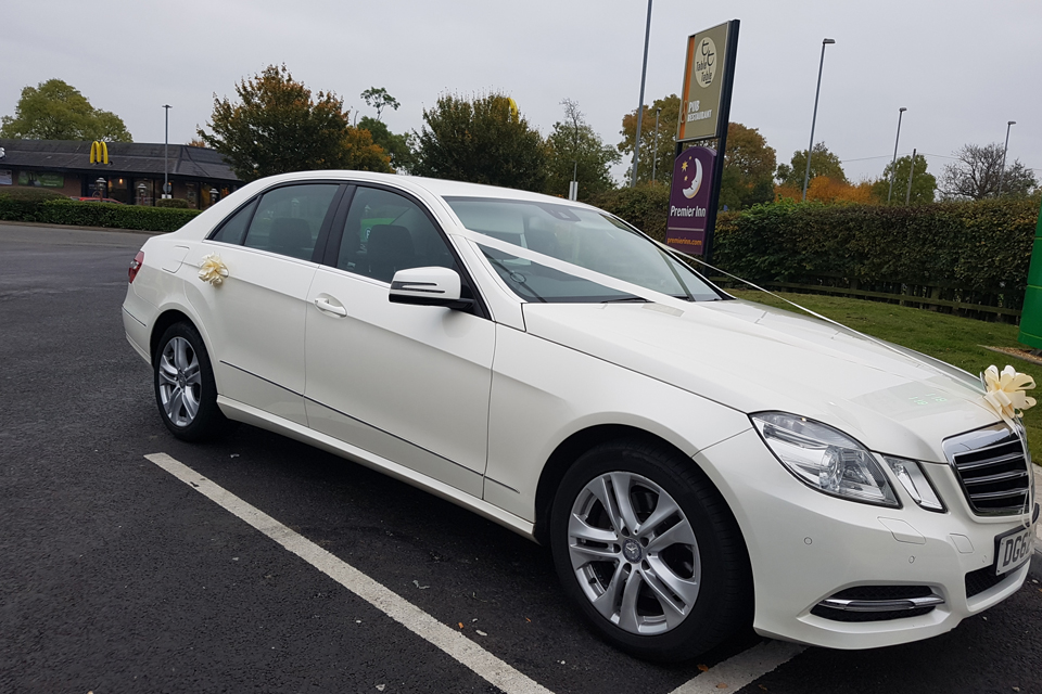 Luxury Wedding Chauffeur Services Leicestershire