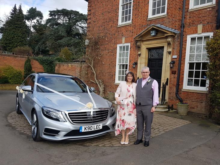 Luxury Wedding Chauffeur Leicester