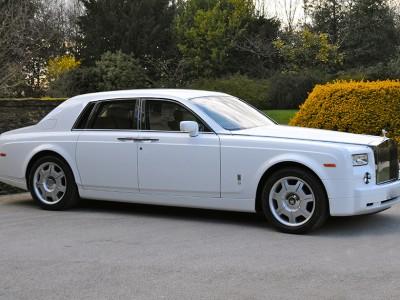 Rolls Royce Phantom VIP Wedding Package