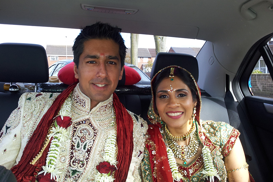 wedding chauffeurs leicester