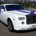 Premium Wedding Car Packages (White Rolls Royce Phantom)