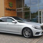 Mercedes S Class Wedding pic at College Court