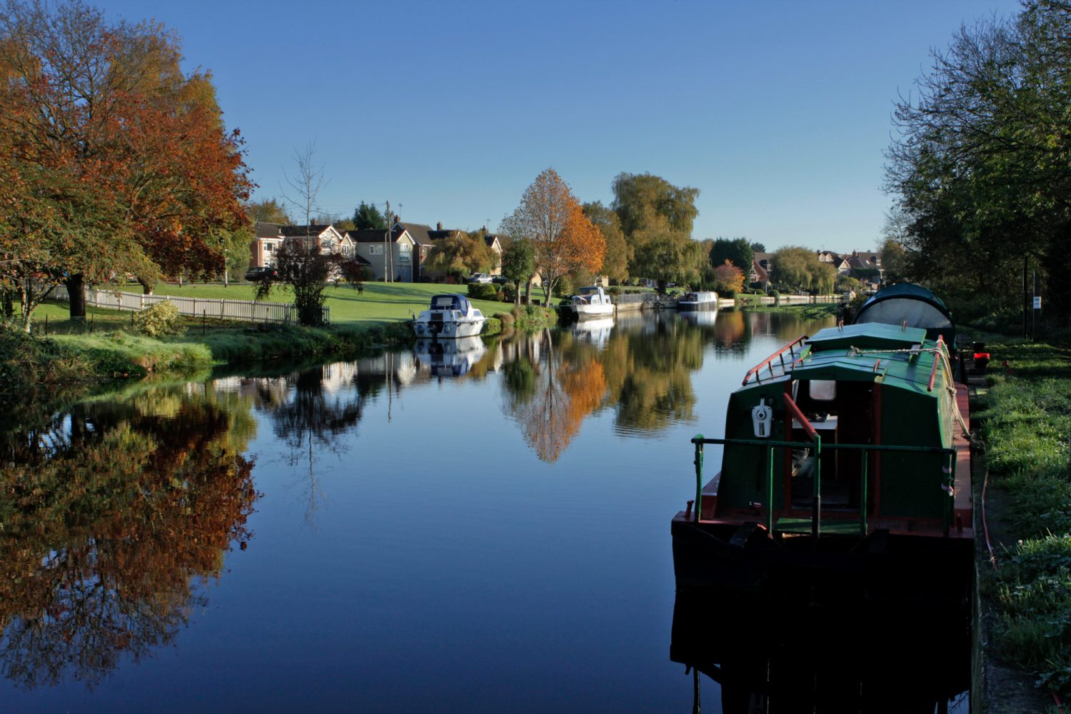barrow-upon-soar river and canal