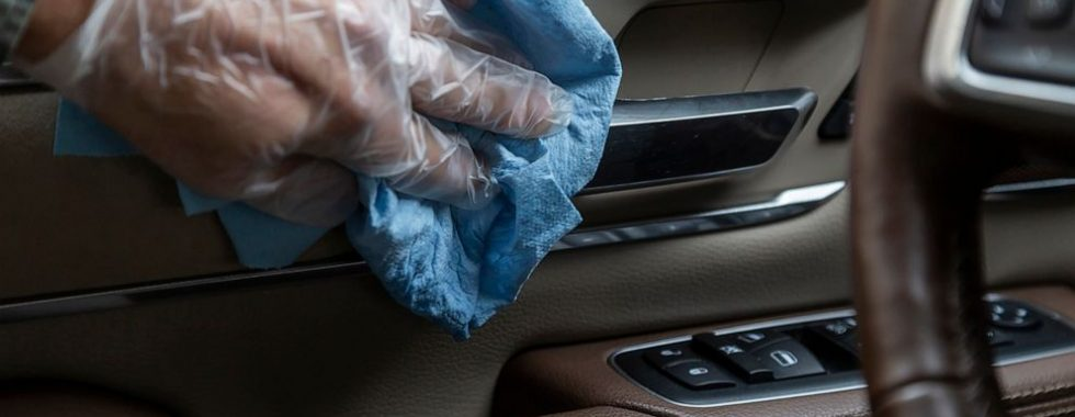 interior vehicle cleaning